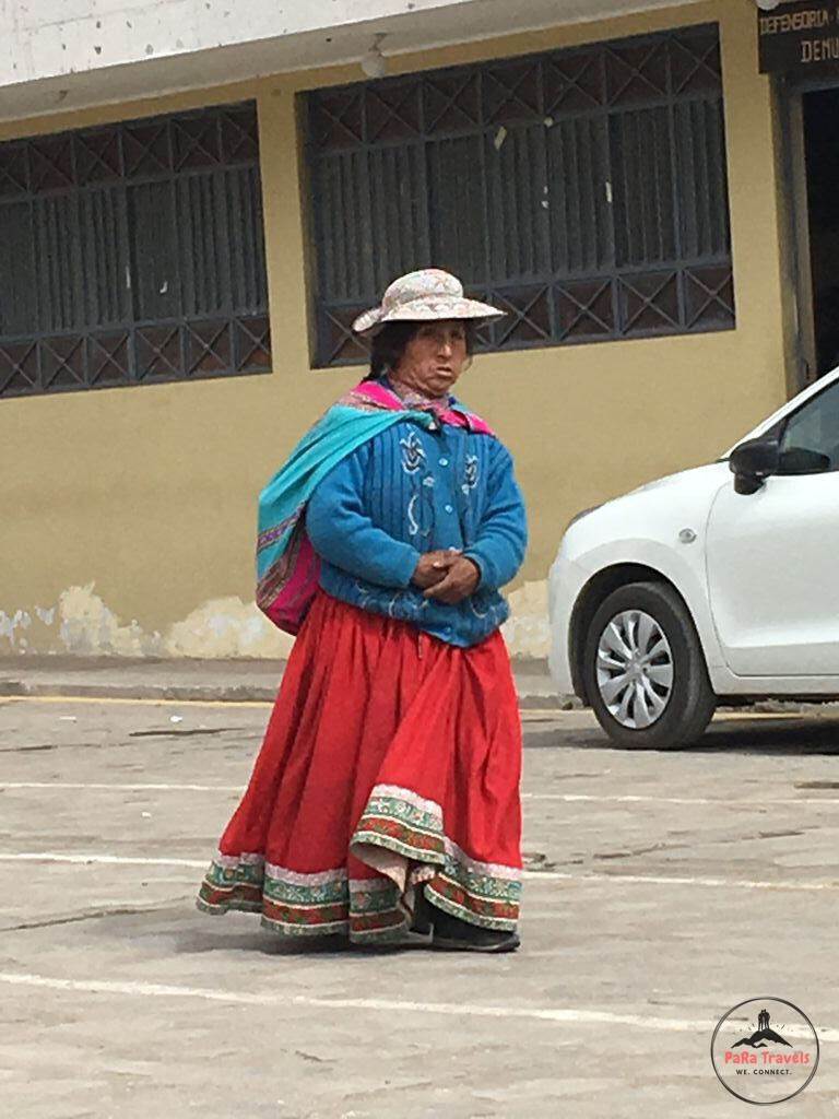 Peruvian dress