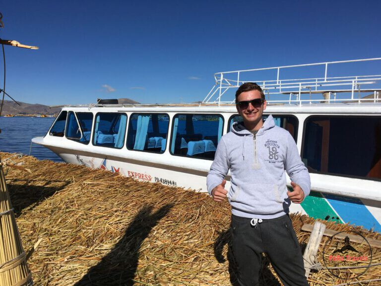 Ralf on Uros islands