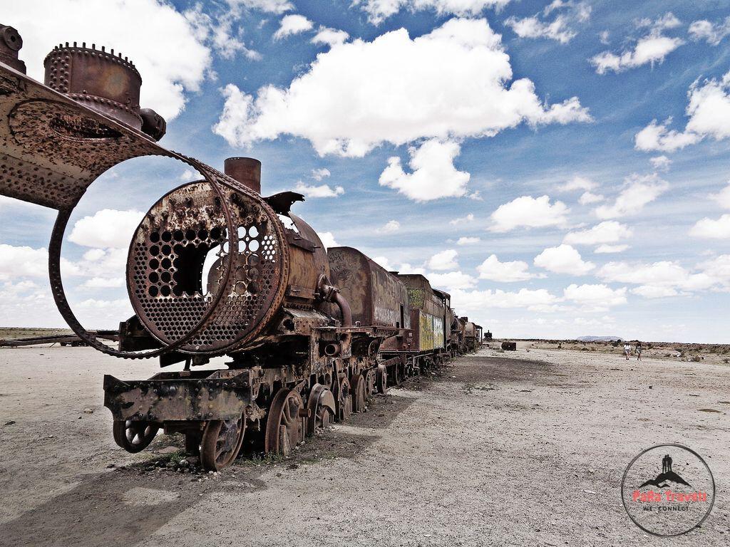 Uyuni train cemetry